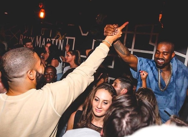 Drake va Kanye West tiet lo sap ra album chung hinh anh