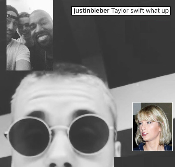 Justin Bieber 'hoi tham' Taylor Swift hinh anh 1