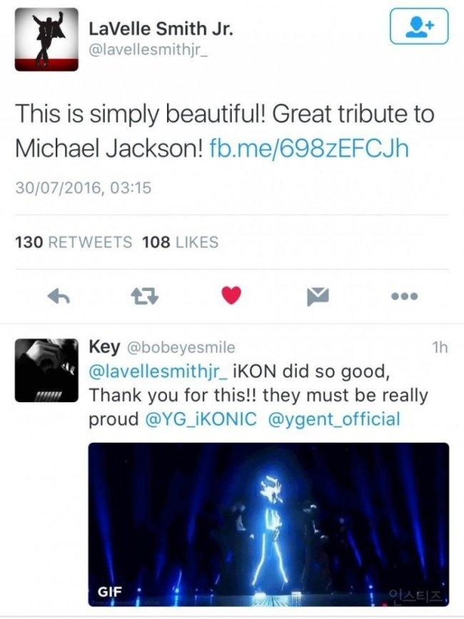iKON duoc khen ngoi khi tai hien vu dao cua Michael Jackson hinh anh 2