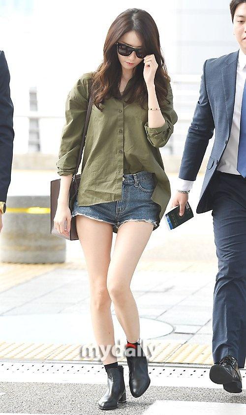 Yoona do thoi trang san bay voi sao 'Gia dinh la so 1' hinh anh 2