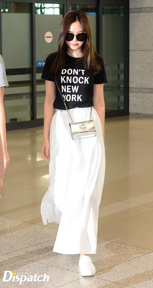 Yoona do thoi trang san bay voi sao 'Gia dinh la so 1' hinh anh 3