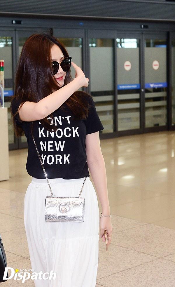 Yoona do thoi trang san bay voi sao 'Gia dinh la so 1' hinh anh 4