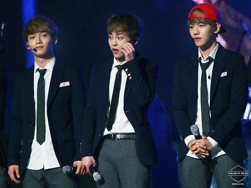 3 hot boy EXO hat nhac phim 'Bo bo kinh tam' ban Han hinh anh 2