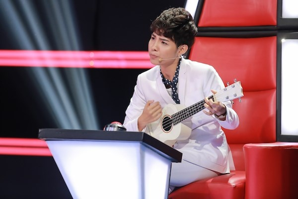 Vu Cat Tuong bi chat van ve ghe nong o The Voice Kids hinh anh 3