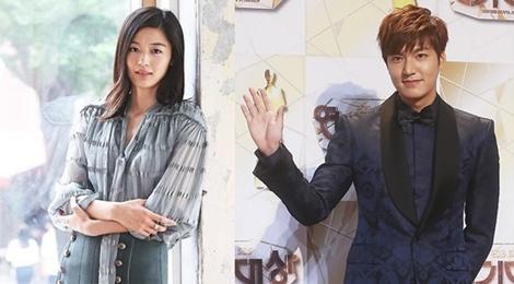 Lee Min Ho va Jun Ji Hyun sang chau Au quay phim hinh anh