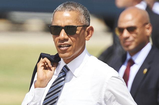 Tong thong Obama nghe ca khuc goi cam luc ve dem hinh anh