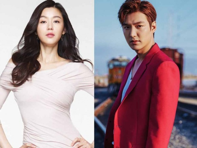 Lee Min Ho va Jun Ji Hyun sang chau Au quay phim hinh anh 1