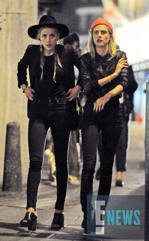 Amber Heard vui ve tiec tung sau khi chia tay Johnny Depp hinh anh 3