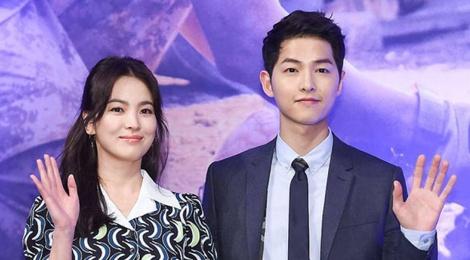 Song Hye Kyo gui do an cho doan phim cua Song Joong Ki hinh anh