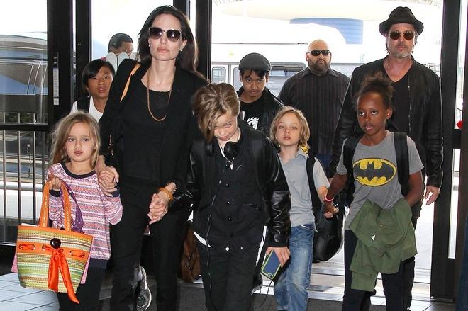 Brad Pitt va Angelina Jolie hanh phuc ky niem ngay cuoi anh 2