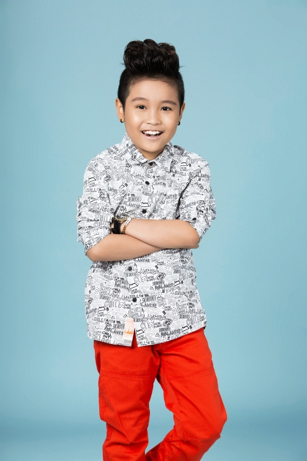 Dong Nhi - Ong Cao Thang gioi thieu tro cung The Voice Kids hinh anh 5
