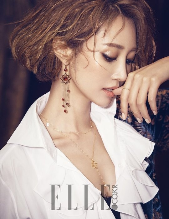 Go Joon Hee an tuong voi toc vang bach kim hinh anh 7