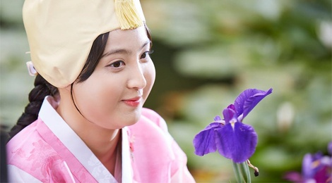 Canh hoa trang cua cong chua beo phim co trang Han hinh anh