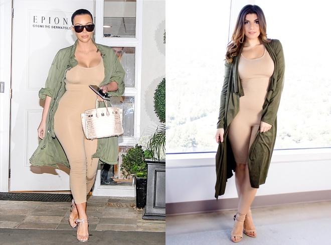 thoi trang Kim Kardashian anh 1