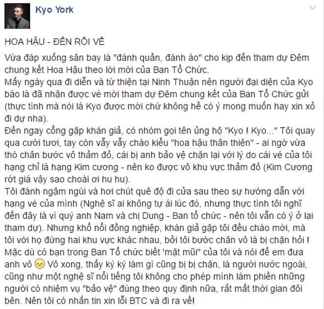 Kyo York bo ve vi bi moi khoi tham do Hoa hau Viet Nam hinh anh 1