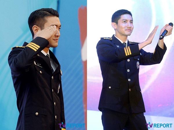 Choi Si Won va Changmin hat trong quan phuc nguoi linh hinh anh 2