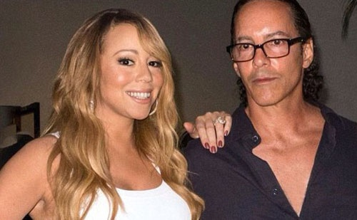 Mariah Carey bi anh ruot to ich ky,  bo be gia dinh anh 1
