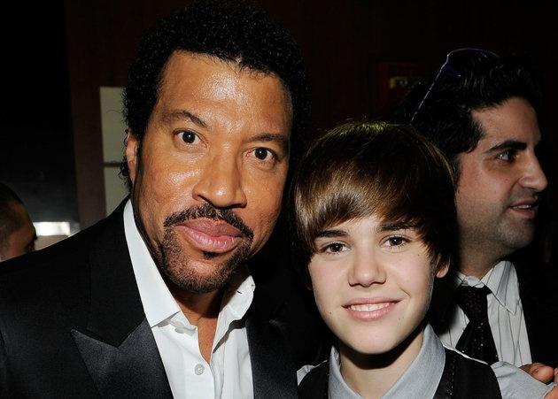 Lionel Richie khong phan doi con gai yeu Justin Bieber hinh anh
