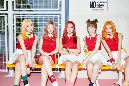 Red Velvet kho len hang vi dung do dan anh hinh anh 1