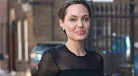 Angelina Jolie ngay cang gay guoc hinh anh