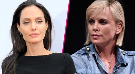 Angelina Jolie kho chiu vi bi Charlize Theron the vai hinh anh