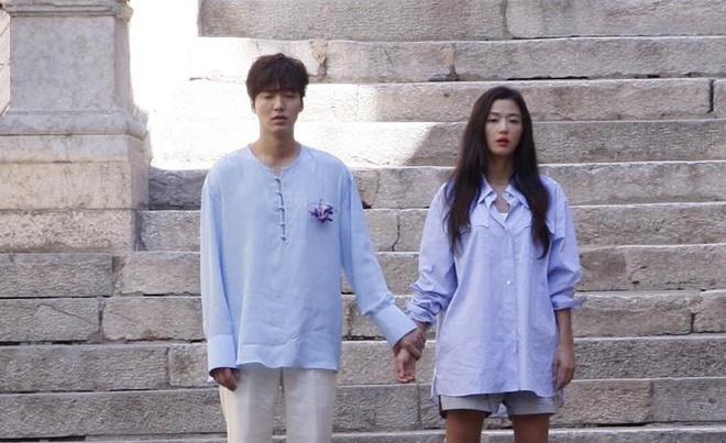 Lo anh Lee Min Ho – Jun Ji Hyun o phim truong 'Nang tien ca' hinh anh 3