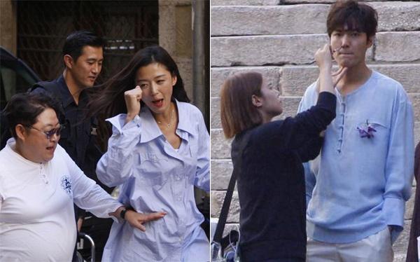 Lee Min Ho giai cuu Jun Ji Hyun anh 4