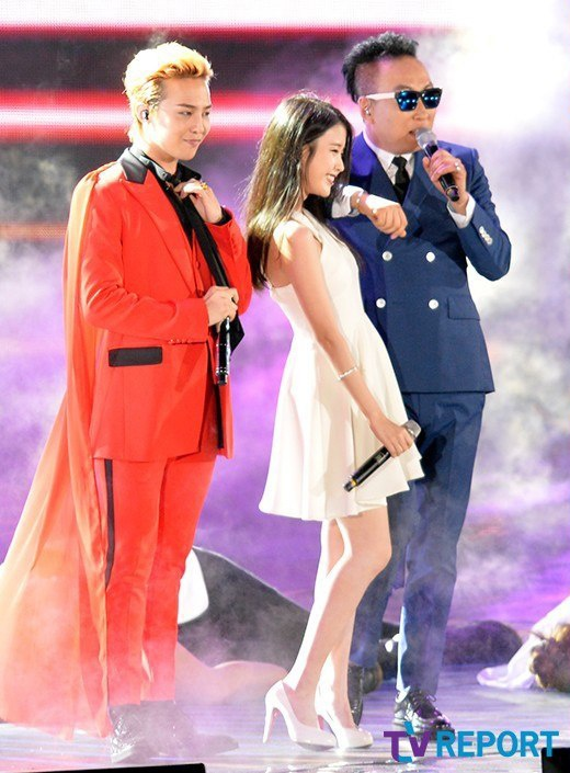 G-Dragon va IU anh 2