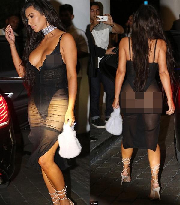 Kim Kardashian mac phan cam anh 2