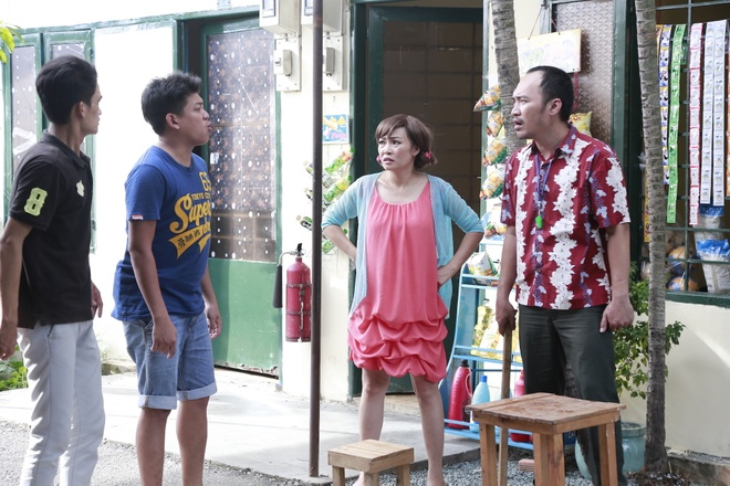 Phuong Thanh dong cap voi Tien Luat trong phim sitcom moi hinh anh 2