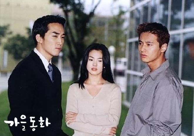 Song Hye Kyo boi hoi nho ve 'Trai tim mua thu' hinh anh 1