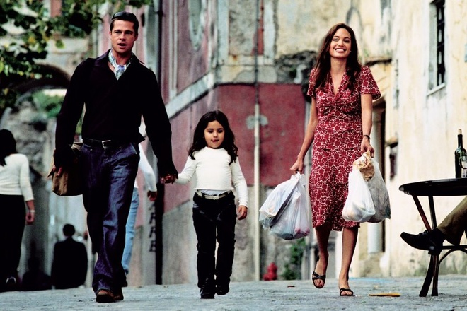 Brad Pitt va Angelina Jolie – tuong dai thoi trang cua Hollywood anh 1