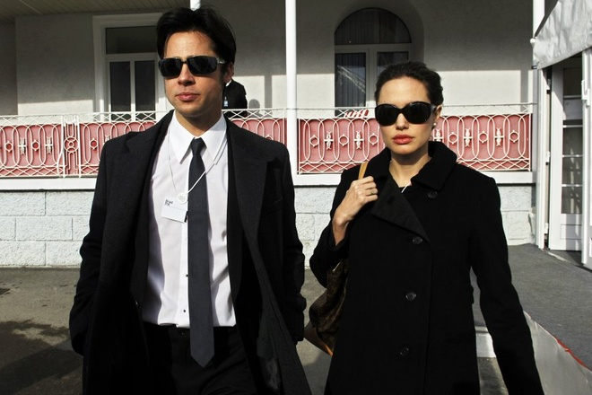 Brad Pitt va Angelina Jolie – tuong dai thoi trang cua Hollywood anh 4