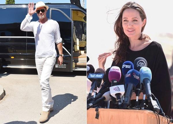 Angelina Jolie – Brad Pitt chia tay anh 3