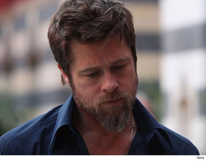 Brad Pitt bi dieu tra vi cao buoc bao hanh vo con hinh anh