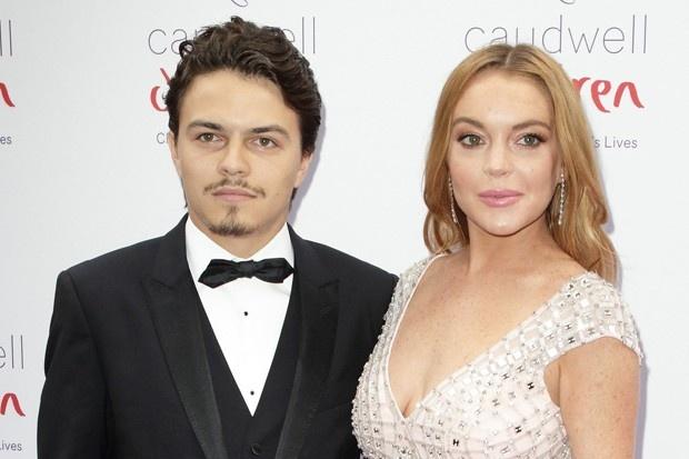 Hon phu Lindsay Lohan lan dau len tieng ve scandal bao luc hinh anh