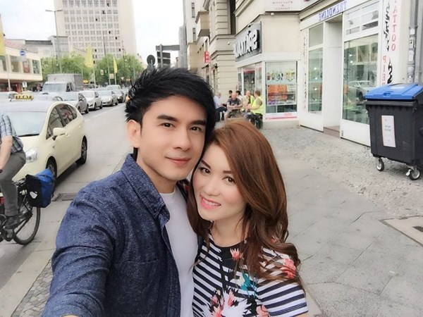 Vo Dan Truong mang bau 4 thang hinh anh 1