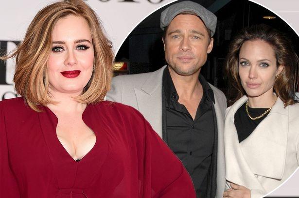 Adele: 'Toi khong quan tam chuyen Brangelina chia tay' hinh anh