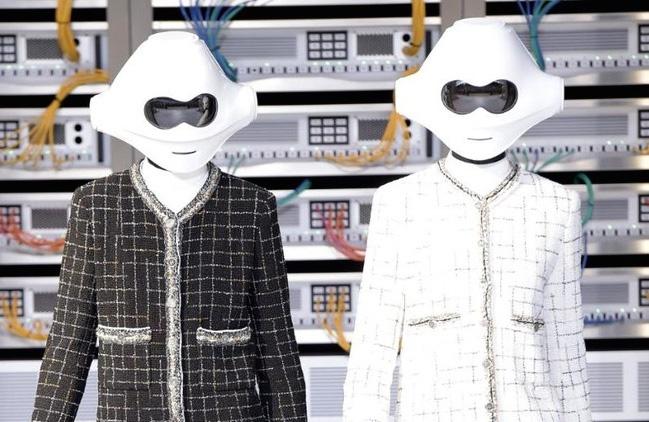 Chanel bien san dien thanh trung tam IT cung dan mau robot hinh anh