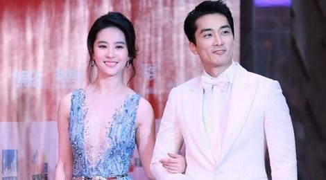 Song Seung Hun don tuoi 40 ben Luu Diec Phi hinh anh