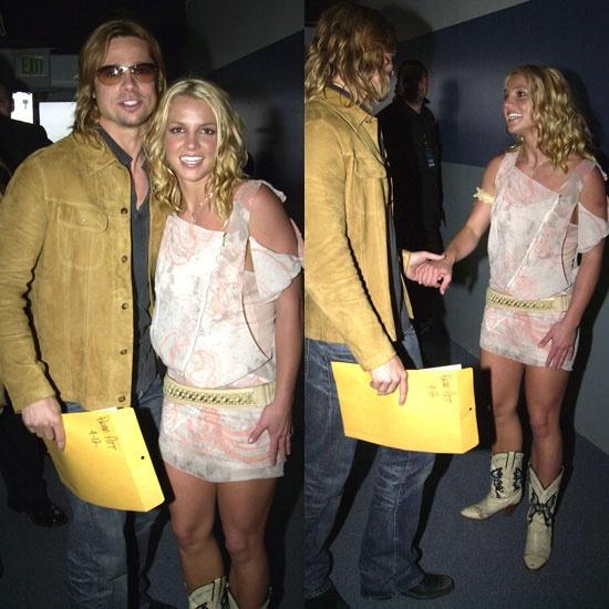 Britney Spears vui khi Brad Pitt doc than hinh anh 1