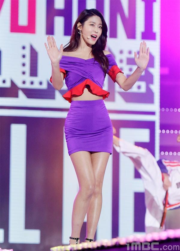 Seolhyun (AOA),  Tzuyu (Twice) va Hani (EXID) hop tac anh 6