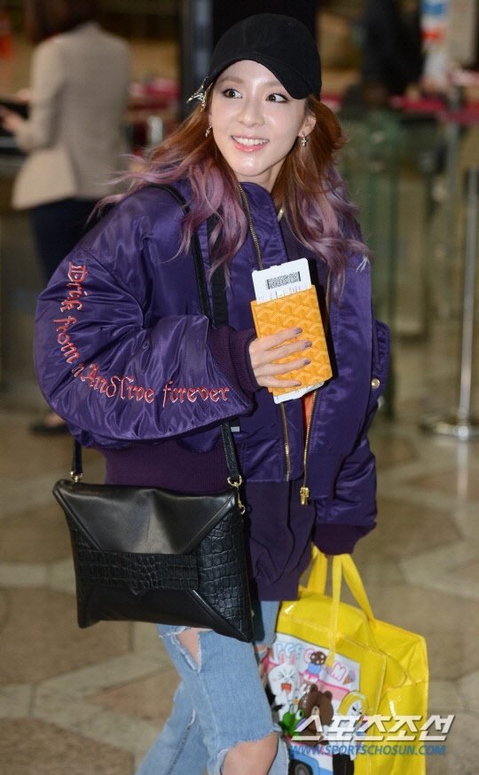 Jessica Jung va Sandara do thoi trang san bay anh 6