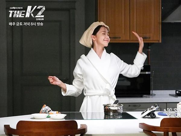 Hau truong phim K2 cua Yoona,  Ji Chang Wook anh 12
