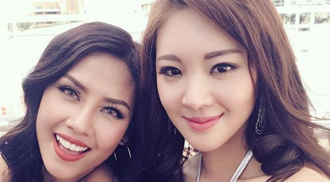 Nguyen Loan dien bikini nong bong tai Miss Grand Internation hinh anh