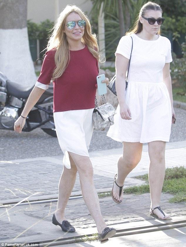 Lindsay Lohan bi Donald Trump binh luan tuc tiu anh 1
