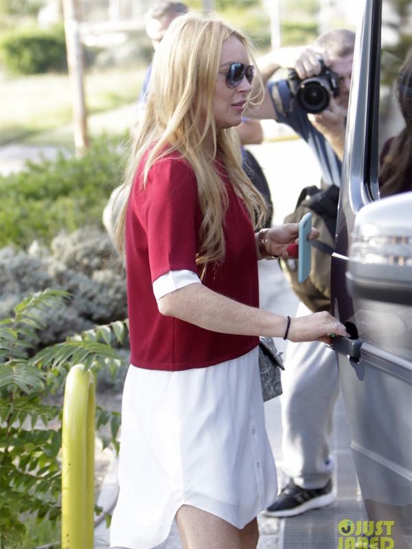 Lindsay Lohan bi Donald Trump binh luan tuc tiu anh 3
