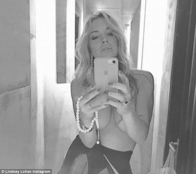 Lindsay Lohan bi Donald Trump binh luan tuc tiu anh 4