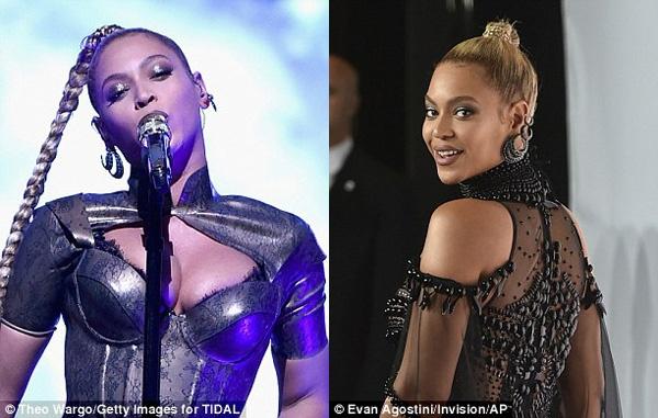 Beyonce bieu dien voi mot ben tai chay mau anh 3