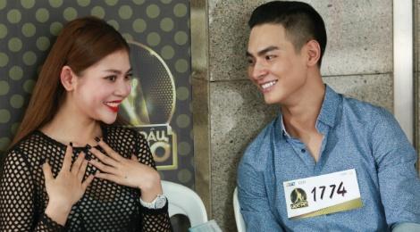 Chung Huyen Thanh dua ban trai di casting show thuc te hinh anh